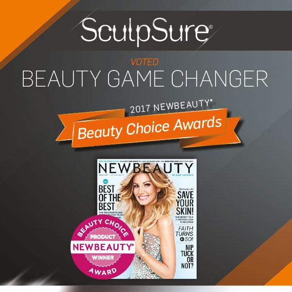 Beauty Choice Award für Sculpsure
